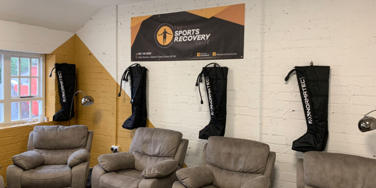 compression-room at The Sports Recovery Suite