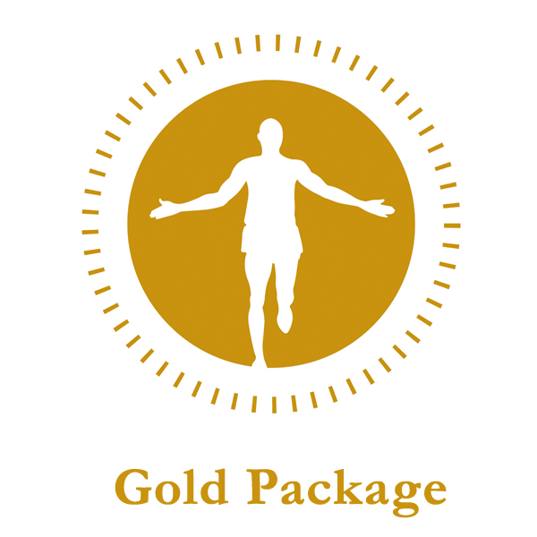 The Sports Recovery Suite Gold Package